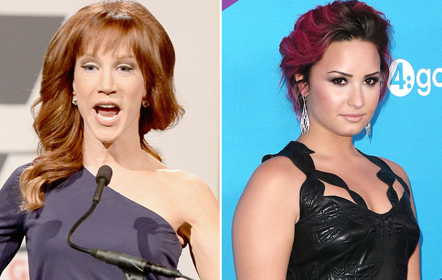 Kathy Griffin & Demi Lovato Start Bitter Twitter War