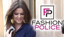 Khloe Kardashian PISSED at Ray J/Joan Rivers Sex Tape -- Bails on Joan's Show