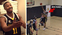 Michael B. Jordan -- MONSTER CROSSOVER ... In Star-Studded Basketball League