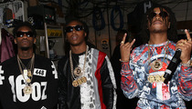 Migos Shooting -- Rap Group Involved in 'Scarface' Style Shootout in Miami