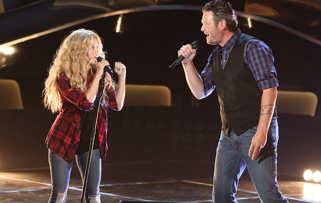 "Check Out Shakira & Blake Shelton's New Duet ""Medicine"""