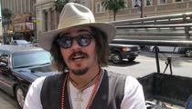 Johnny Depp Impersonator -- I'm Married, But I'd Still Bang Amber Heard!