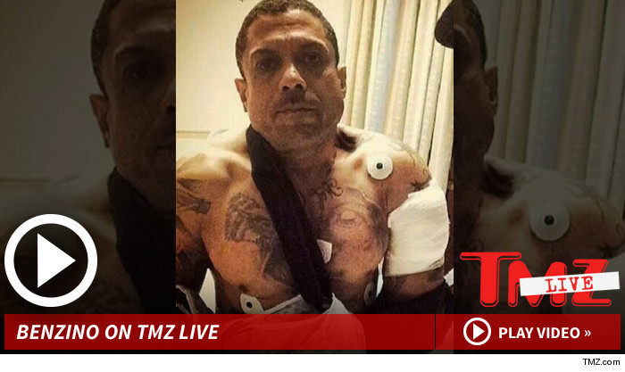 Benzino Shot By Nephew