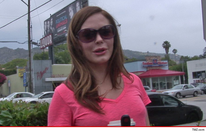 Rose McGowan Wedding Lawsuit