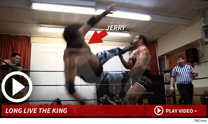 Jerry The King Lawler Wrestling Heart Attack
