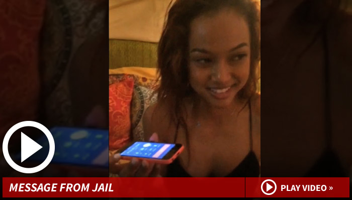 Chris Brown Calls Karrueche Tran Jail