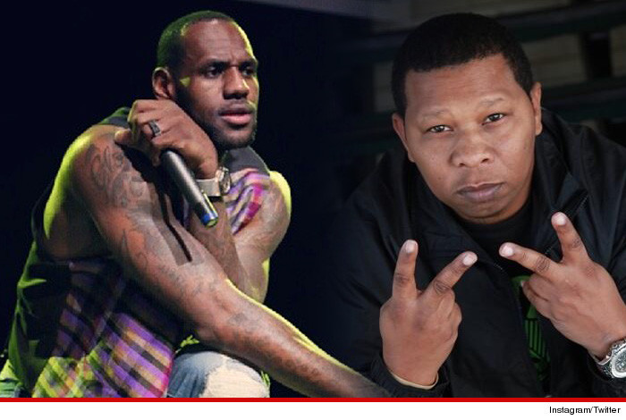Mannie Fresh LeBron James Rap