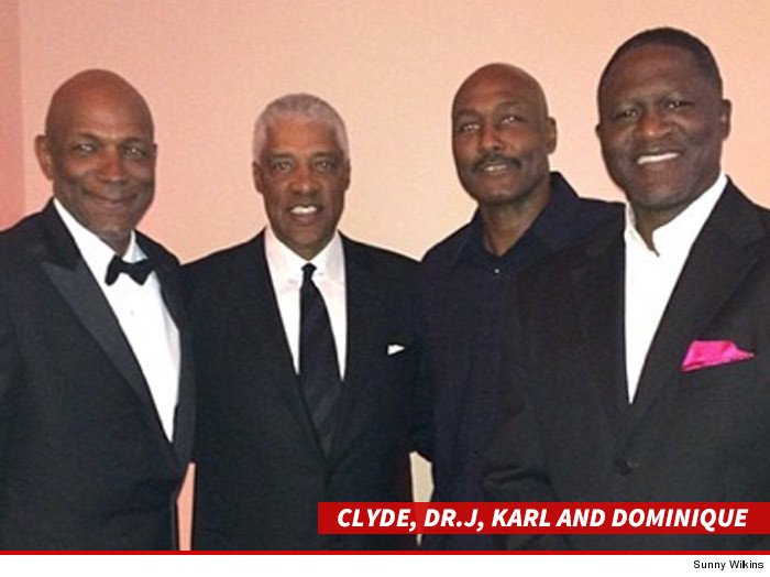 Clyde Drexler Married