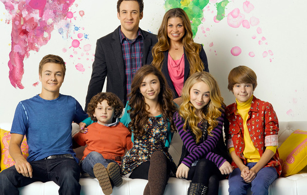 "Meet The Cast of ""Girl Meets World"" -- See The First Family Photo!"