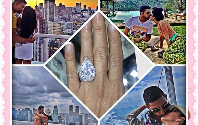 """Shahs of Sunset"" Star Lilly Ghalichi Engaged -- See the GIANT Ring!"