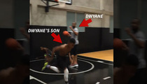 Dwyane Wade -- MY SONS WILL BE BALLERS ... 'Cause I'm Teaching Them