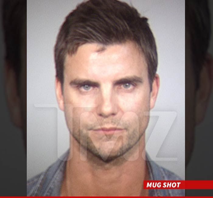 Colin Egglesfield Arrested