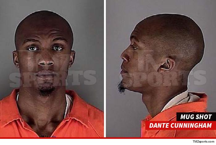 Dante Cunningham Mug Shot