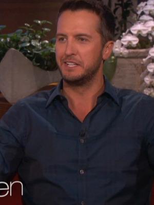 """Luke Bryan Chugs Beer & Takes Shots on """"The Ellen DeGeneres Show"""""""