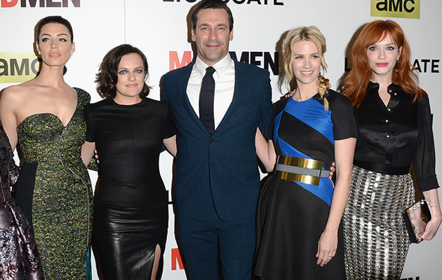 """Mad Men"" Stars All Look Amazing at Final Season Premiere -- Except for One!"