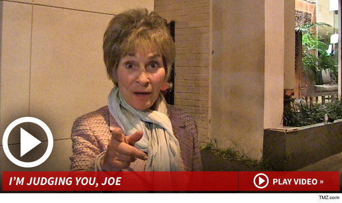 Judge Judy Judge Joe Brown Needs to 'Stay Sober'