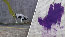 Banksy Vandal Ordered to Stay Clear Of Banky's Vandalous Works!