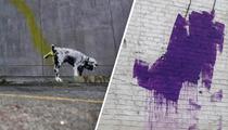 Banksy Vandal Ordered to Stay Clear Of Banky's Vandalous Works!