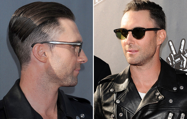 Adam Levine Debuts Half-Shaved 'Do -- Like the Look?