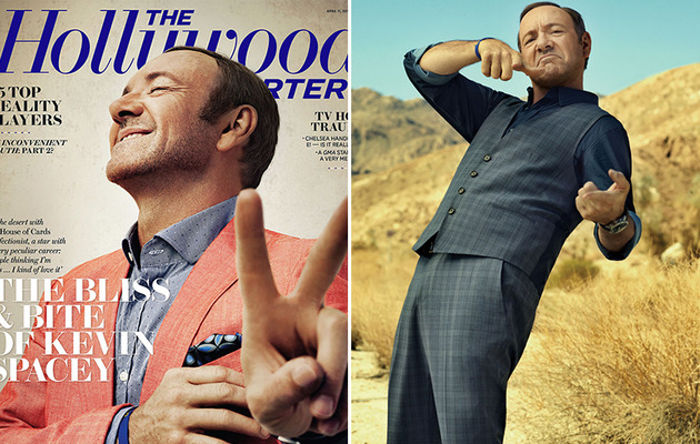 "Kevin Spacey on Hollywood Image: ""I'm Used to People Thinking I'm Nuts"""