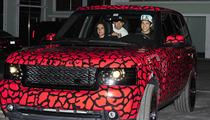 Austin Mahone Range Rover -- Make Way for the Douchemobile!