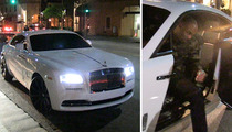 Carl Crawford -- Date Night with Evelyn Lozada ... IN $300K ROLLS ROYCE!