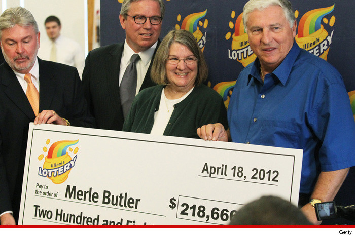 $218 Million Lotto Winner Merle Butler -- I'm NOT Giving Away My Money ... Instagram Account's a Hoax