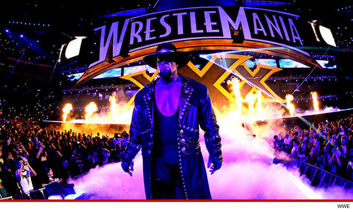 The Undertaker Hospitalized