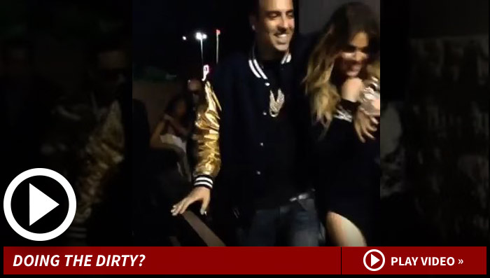 Khloe Kardashian Dating French Montana