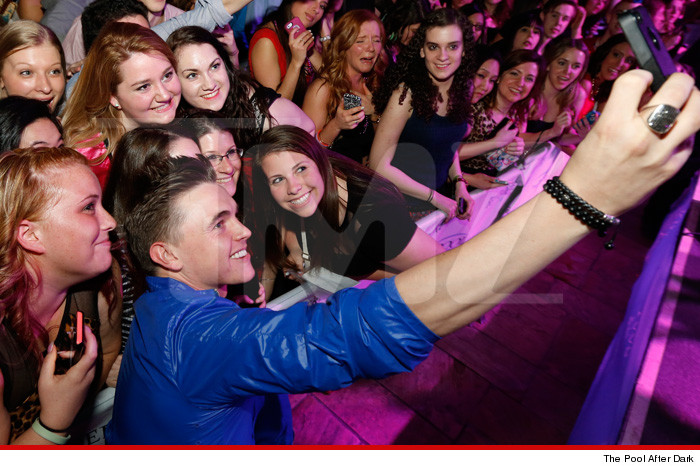 Jesse McCartney Birthday Party