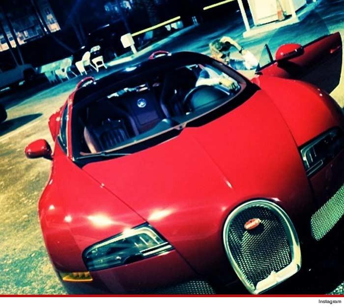 Justin Bieber Bugatti