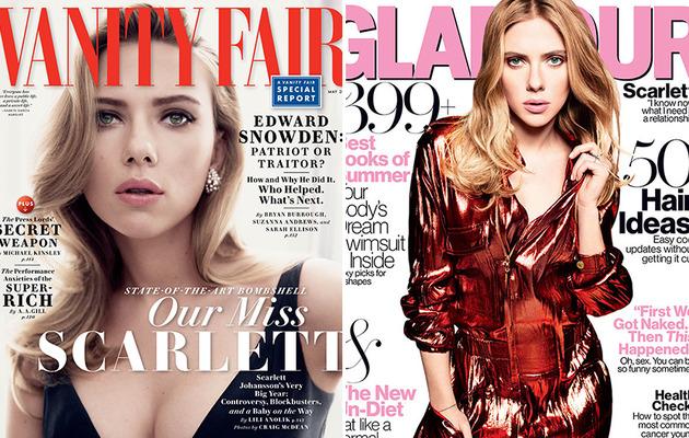 """Scarlett Johansson Talks """"ScarJo,"""" Ryan Reynolds Split and Her Fiance!"""