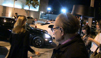 Larry King -- Calls for Women in Late Night ... While Eyeballing a Hot Chick