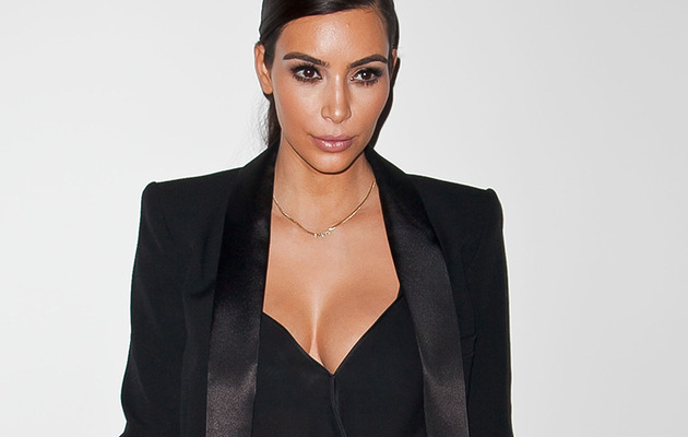 Kim Kardashian Flaunts Major Cleavage at Political Event In L.A.