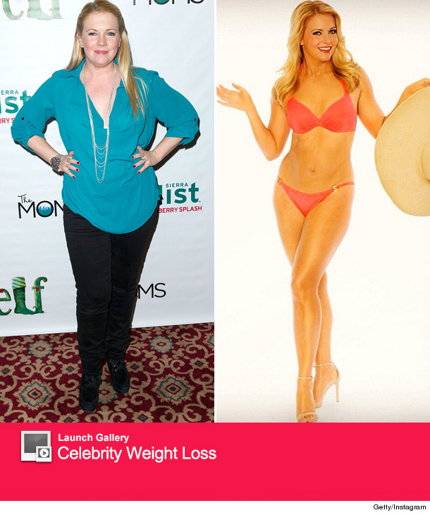Melissa joan hart reveals 40 pound weight loss in a bikini toofab