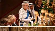 Queen Elizabeth II-- Can Someone Pass the Salt???