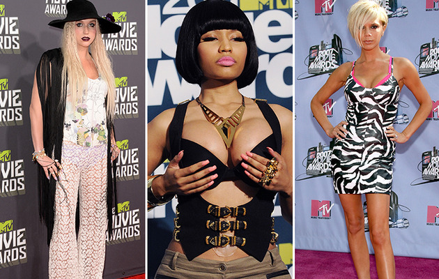 The Worst Dressed Stars of MTV Movie Awards' Past!