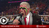 Ultimate Warrior's Death -- He Looked Very Sick & In Pain Days Before He Died