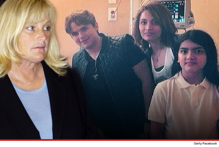 Debbie Rowe Michael Jackson Kids Custody