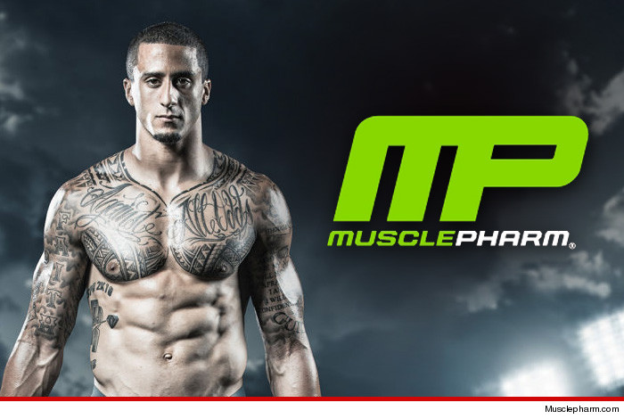 Colin Kaepernick MusclePharm Sexual Assault