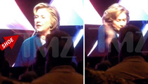 Hillary Clinton -- Attacked By Shoe Thrower in Vegas [VIDEO]