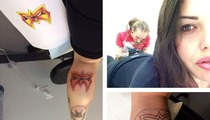 Steven Tyler's Daughter -- Gets Ultimate Warrior Tattoo ... 'RIP Big Man'