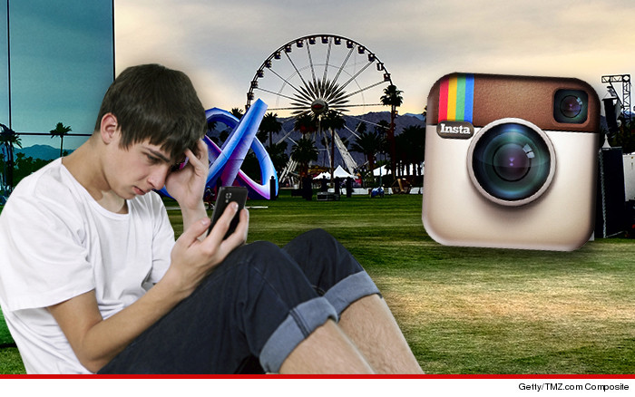 Instagram Crashed Coachella