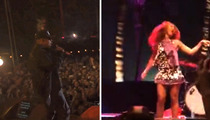 Jay Z and Beyonce -- Surprise Bitches ... We're at Coachella!