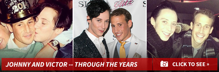 Victor Voronov and Johnny Weir Divorce Off