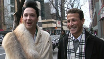 Johnny Weir to Victor Voronov -- There Will Be NO Mutual Masturbation From Here On Out!