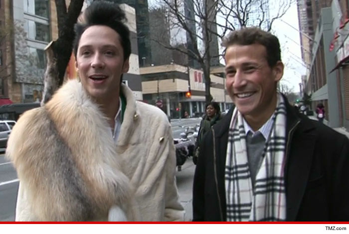 Johnny Weir Husband Back Together