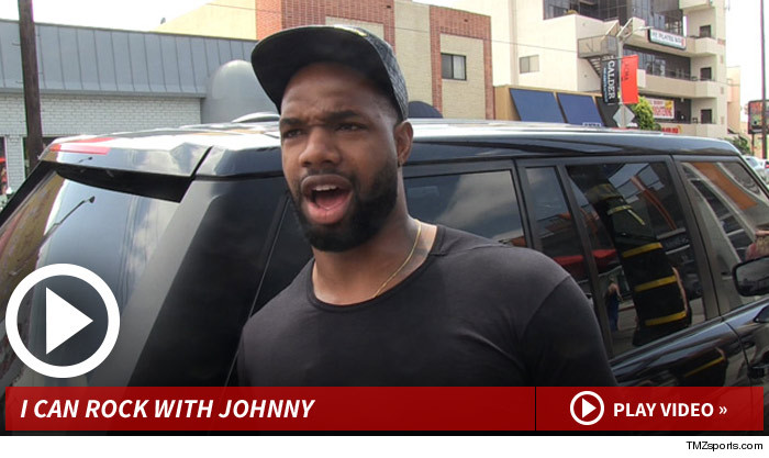 Jaguars Star -- Johnny Manziel Is 'Dope' ... I Hope We Draft Him