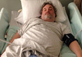 Artie Lange Hospitalized For D