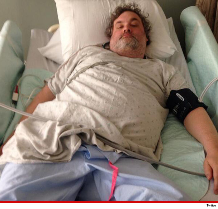 Artie Lange Hospitalized
